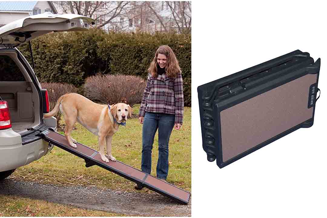 Pet Gear Tri-Fold Ramp, Supports up to 200lbs