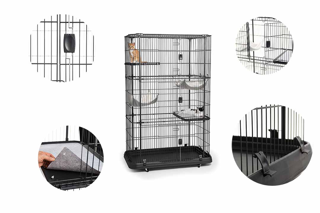 Prevue Pets Products Premium 4 Level Cat Home