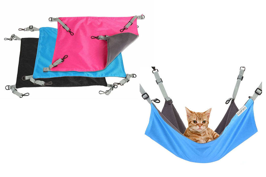 CUSFULL Cat Hammock Bed Comfortable Hanging Pet Hammock Bed