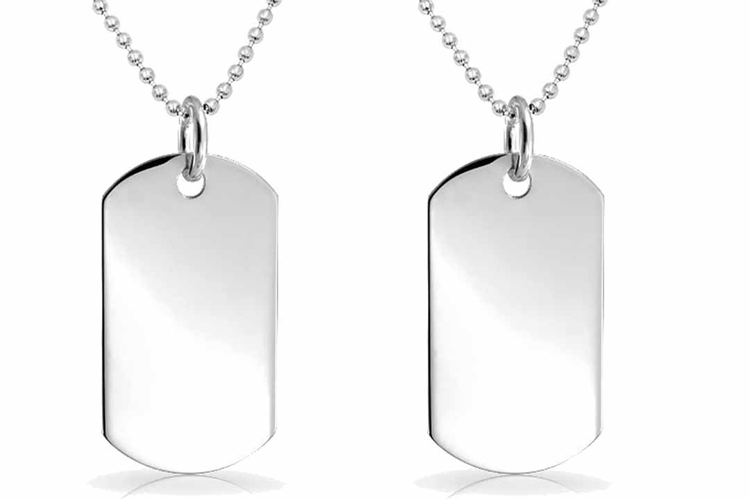Personalized Stainless Steel Dog Tag