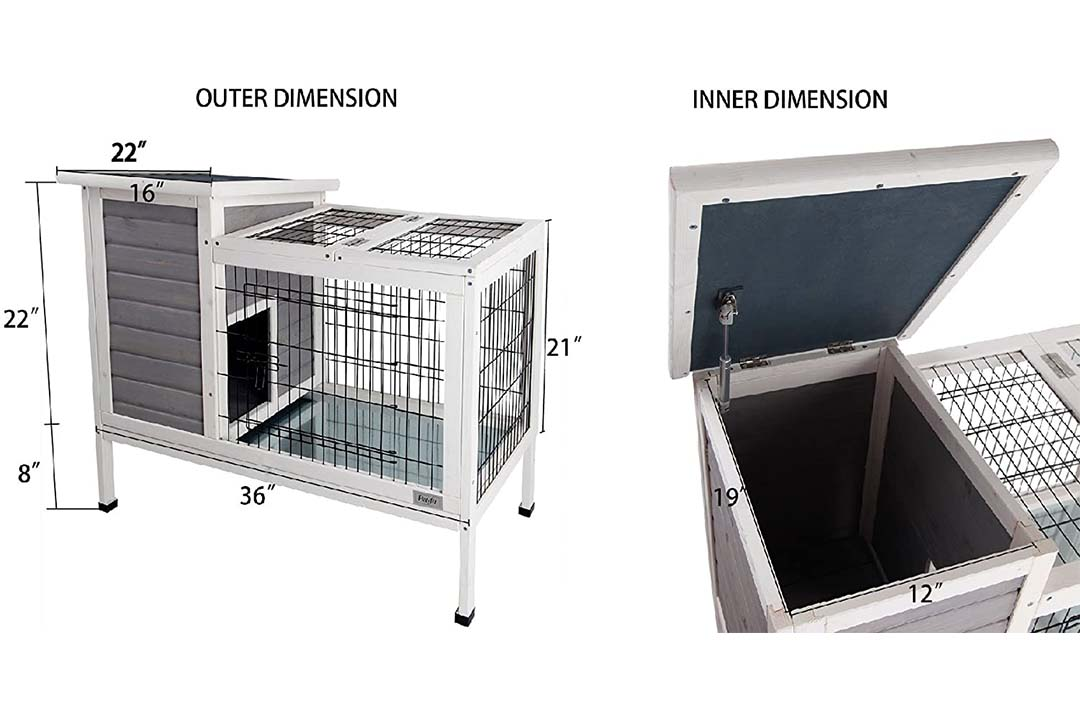 Petsfit Rabbit Hutch