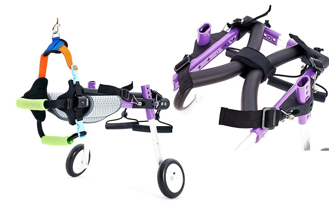 SYLPHID Adjustable Dog Wheelchair - 2 Sizes