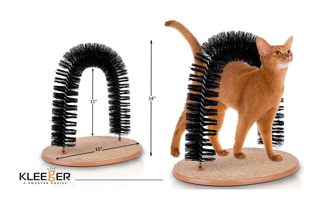 KLEEGER Cat Scratcher and Grooming ArchKLEEGER Cat Scratcher and Grooming Arch