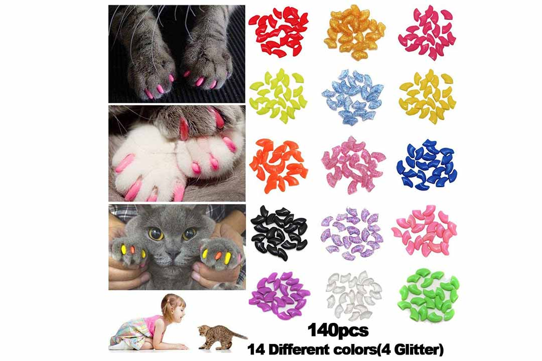 Kitten Pet Paws Claw Grooming Kitty Soft Covers
