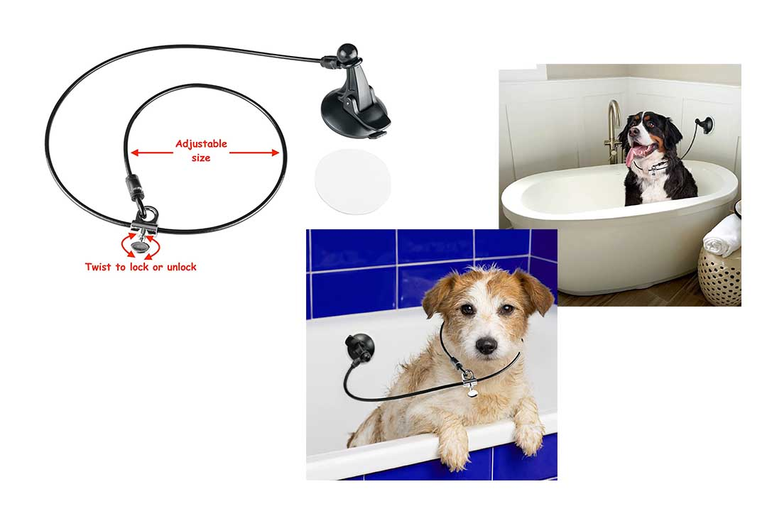 Las Leash Dog Bathing Tub
