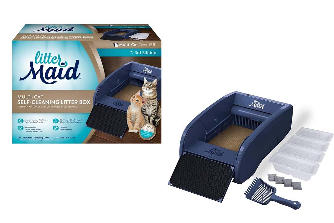LitterMaid Automatic Multi-Cat Litter Box Self-Cleaning Scoop