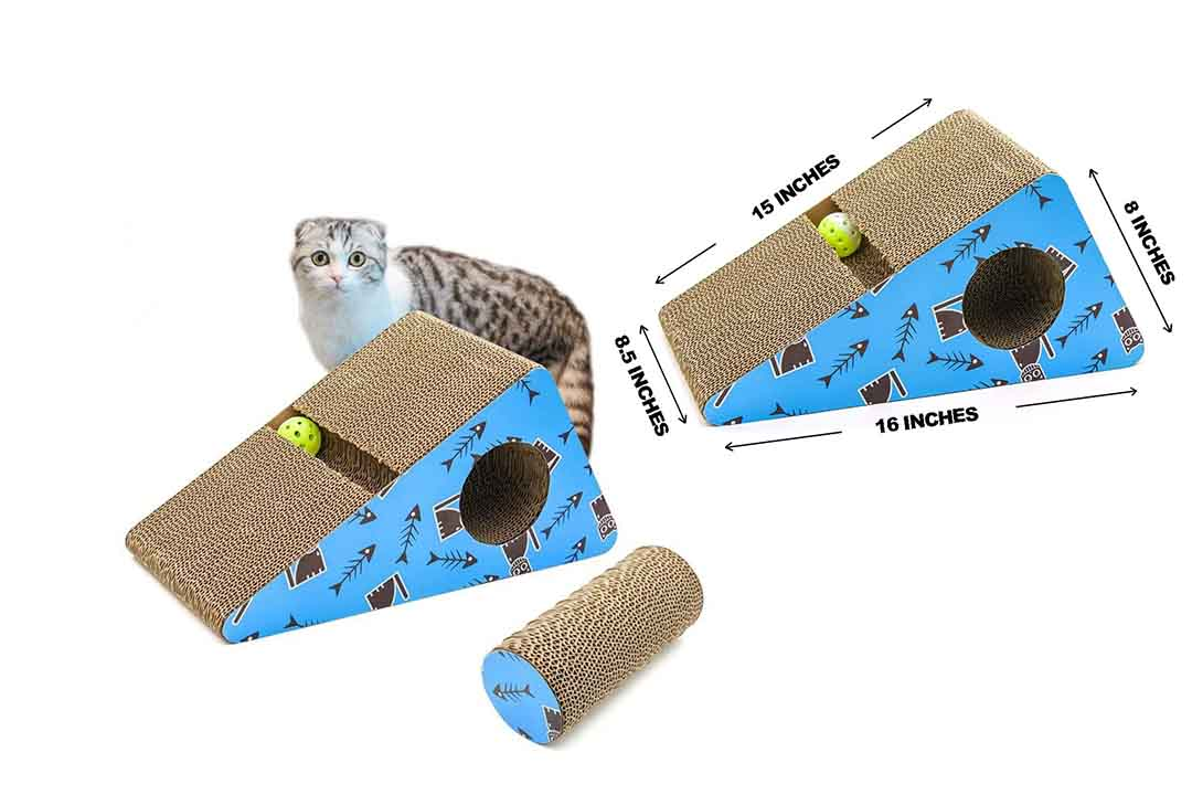 Living Express Multi-activity Kitty Scratching Post