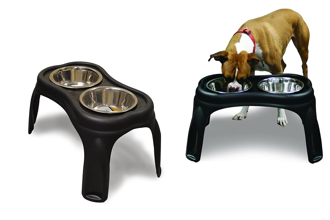 OurPets Elevated Bone Feeder Raised Dog Feeding Station