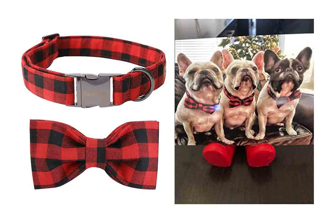 USP Pet Soft & Comfy Bowtie Dog Collar