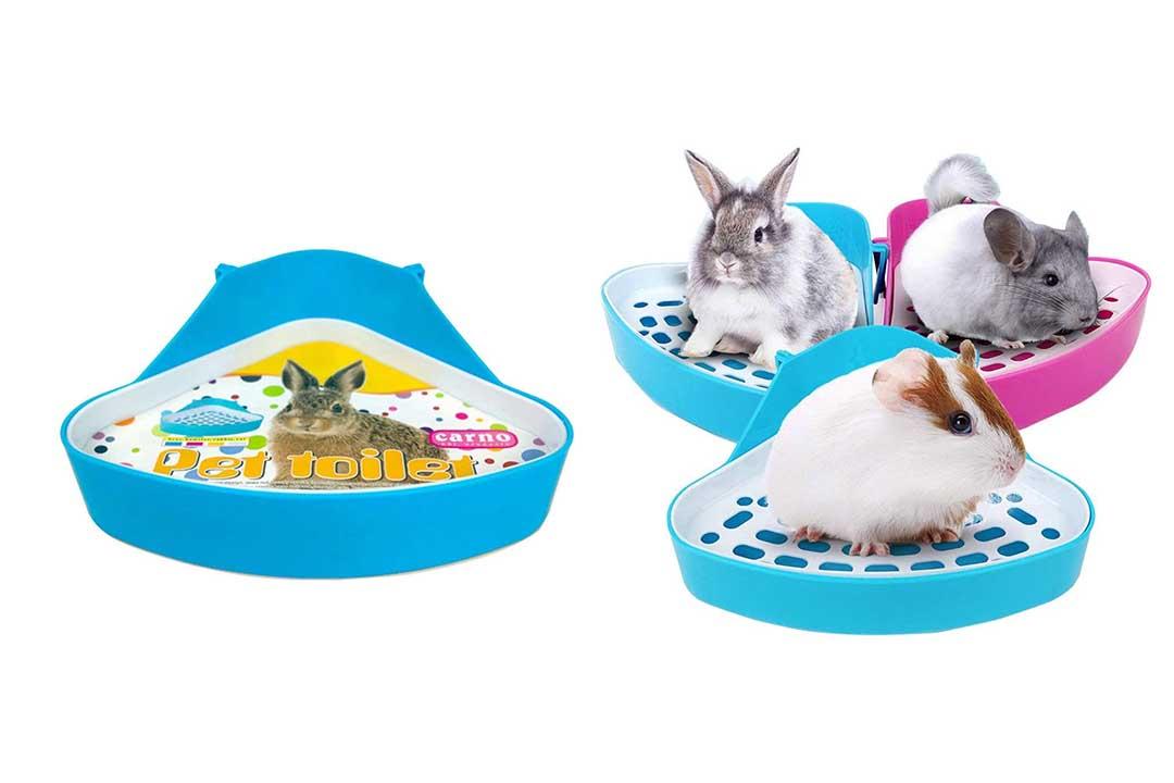 WYOK Plastic Pet Toilet-Litter Tray Corner