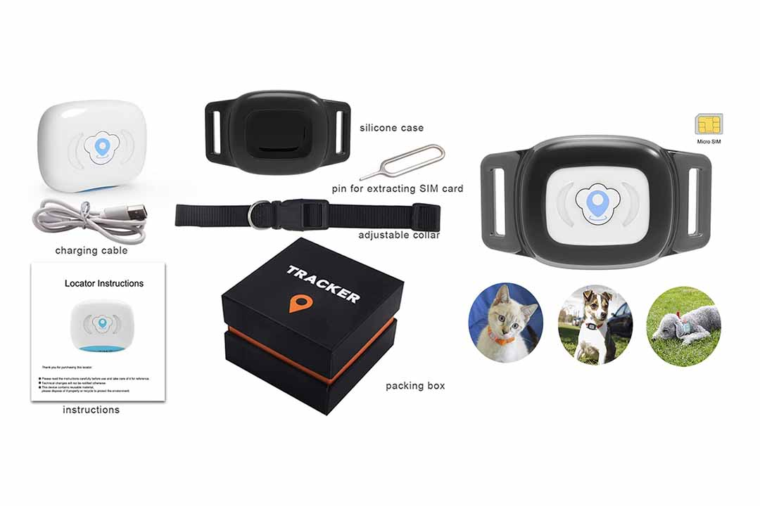 BARTUN Mini Pet Tracker GPS Locator