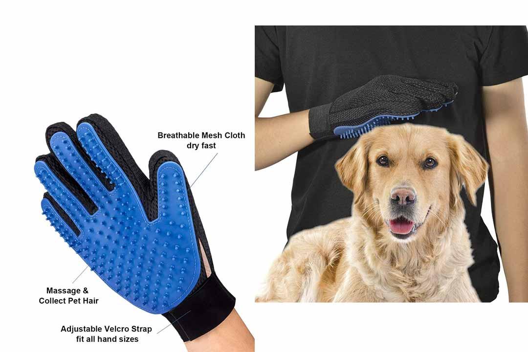 DELOMO Pet Hair Remover Glove