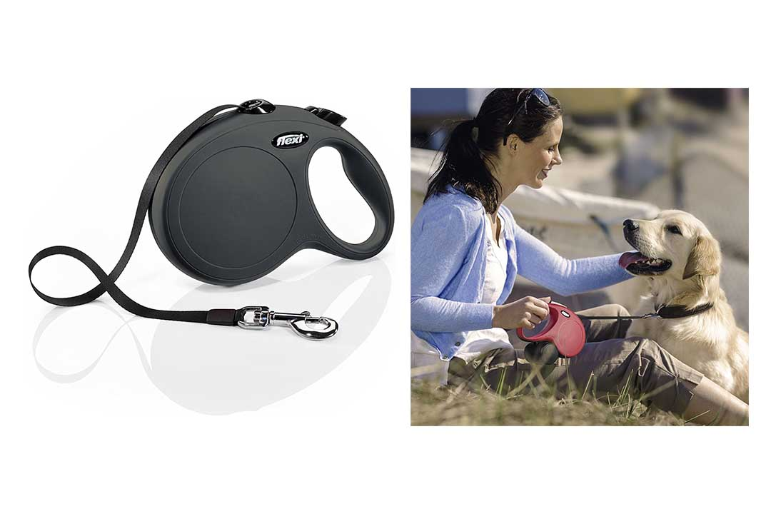Flexi New Classic Retractable Dog Leash Dogs up to 110 lbs