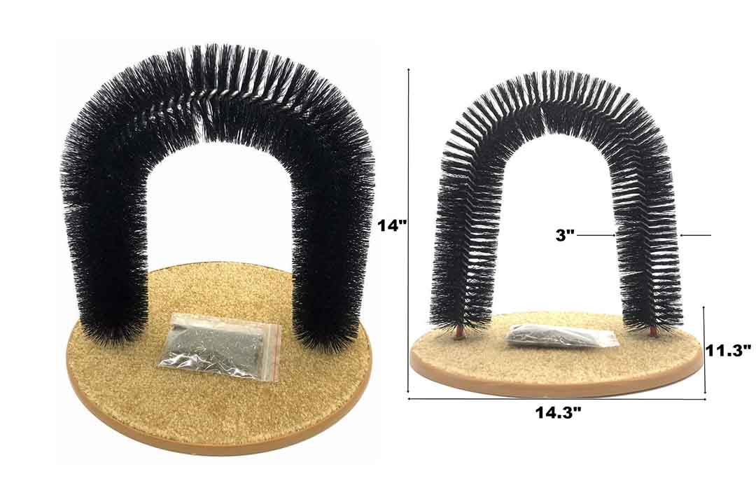rispets Arch Cat Groom Self Grooming Cat Toy Cat Self Groomer