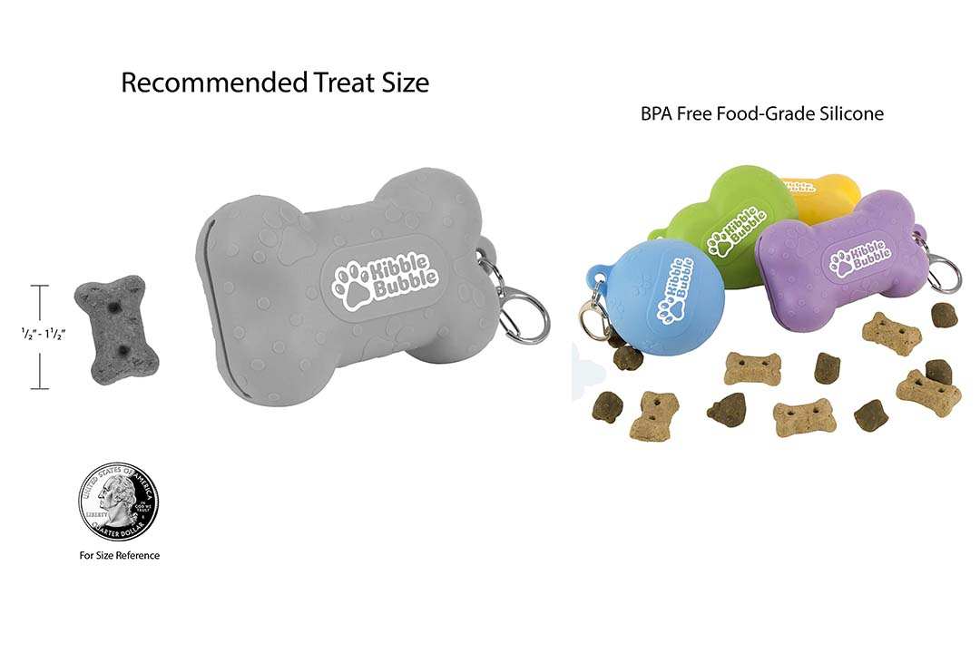 Kibble Bubble Dog Treat Pouch
