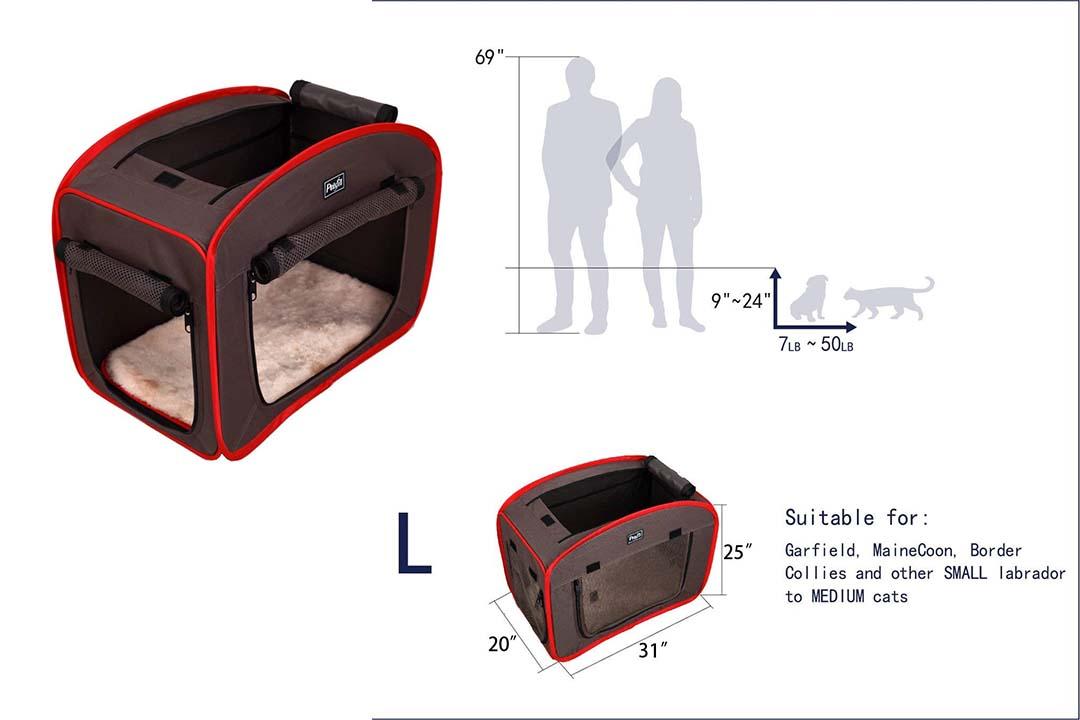 Pets Fit Portable Pop Open Cat Cage