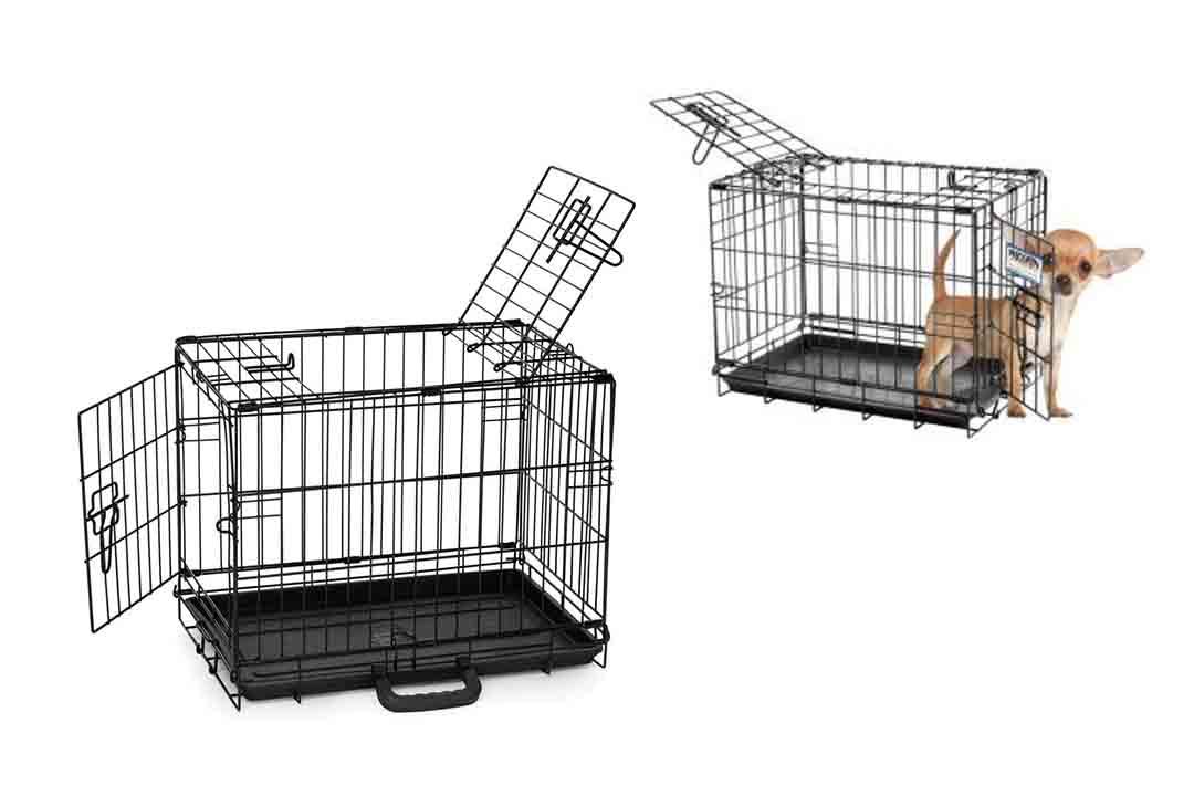 ProValu Double-Door Wire Crate