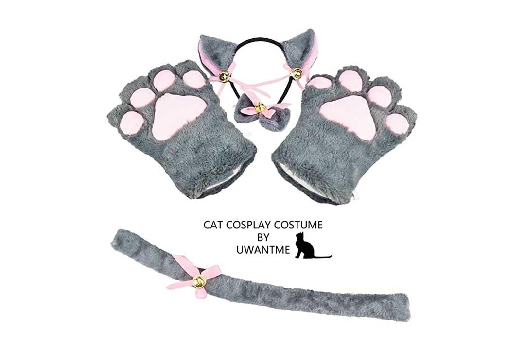 UWANTME Cat Cosplay Costume