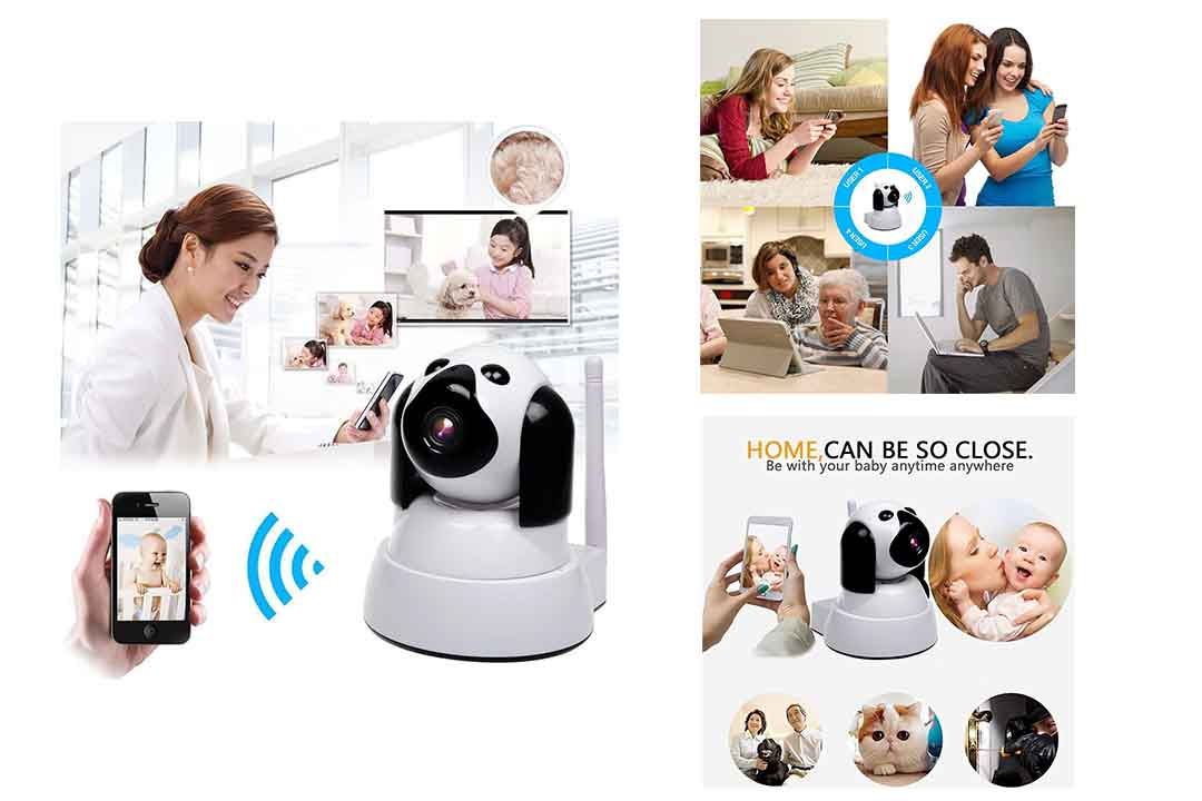 Yooan WiFi IP Camera 720P HD Wireless Camera