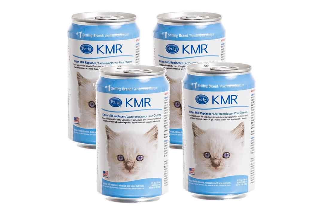 (4-Pack) KMR Liquid Milk Replacer for Kittens and Cats
