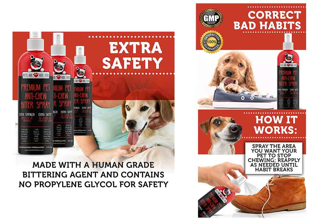 Anti-Chew Dog Training Spray