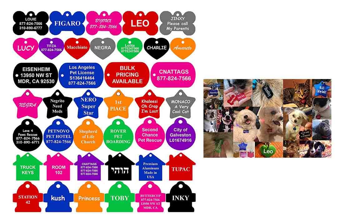 CNATAGGS pet ID Tags