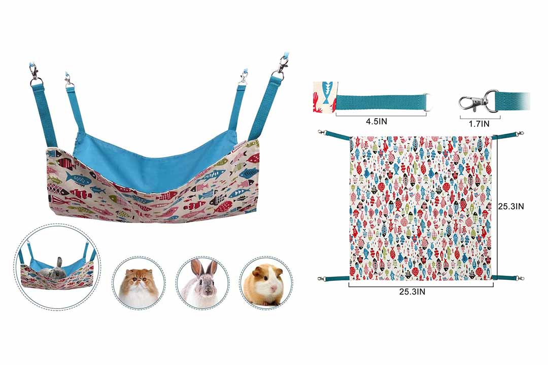 Cat Hammocks Bed Use with Cage or Chair
