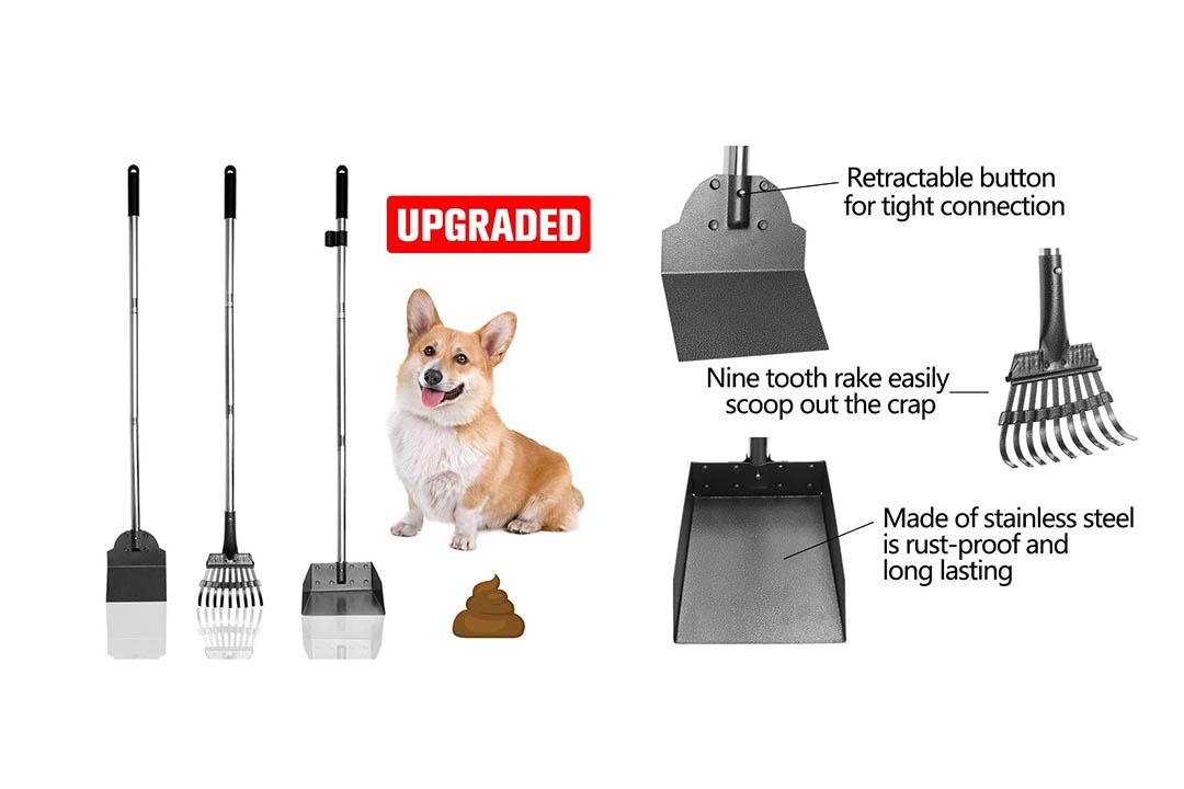 EXPAWLORER Pet Poop Tray