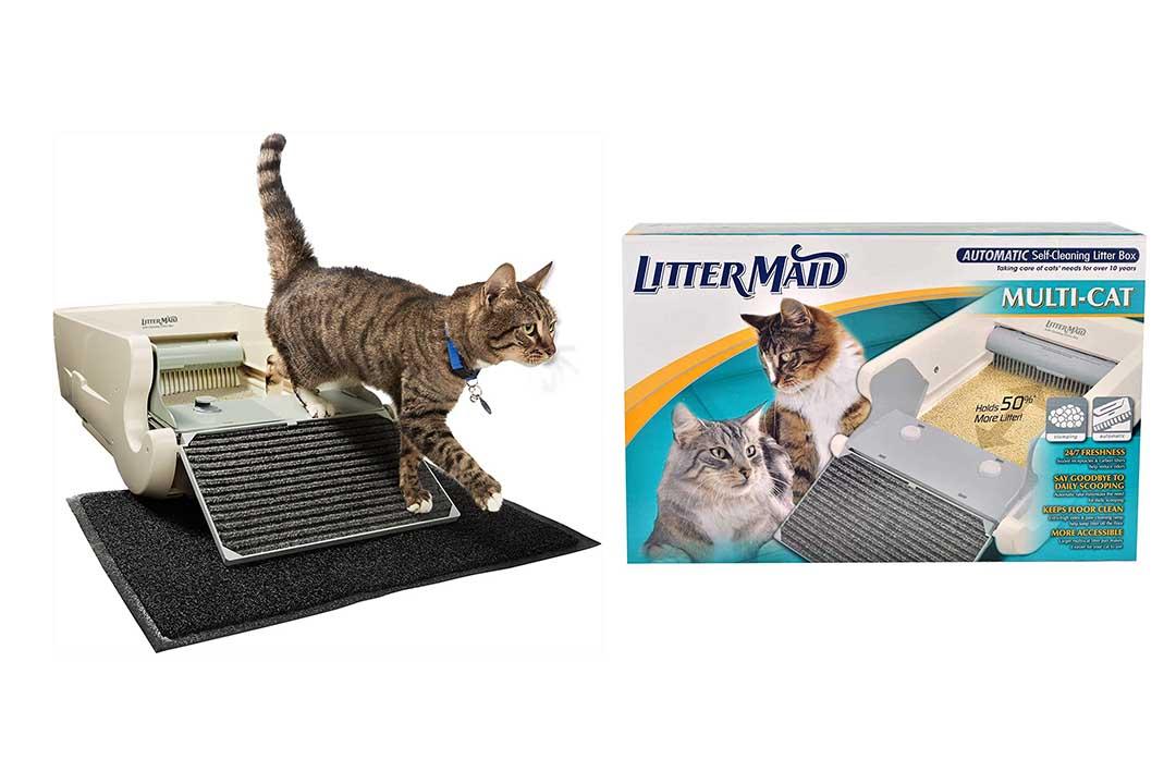 LitterMaid Multi-Cat Automatic Self-Cleaning Litter Box