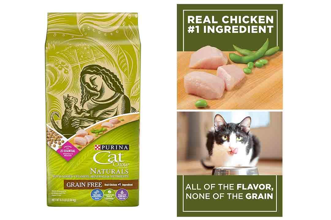Purina Cat Chow Naturals Grain