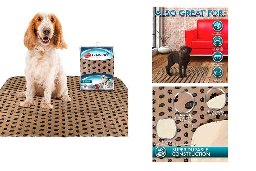 Simple Solution Large Washable Puppy Pad