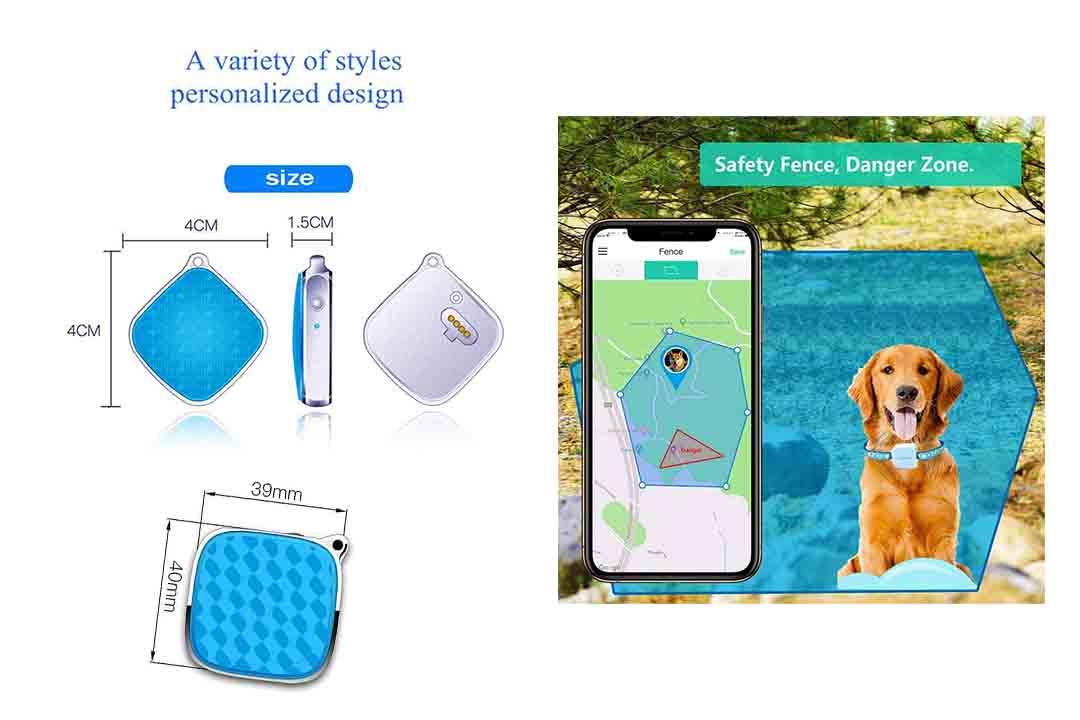 Smart Waterproof Mini Pet GPS Tracking