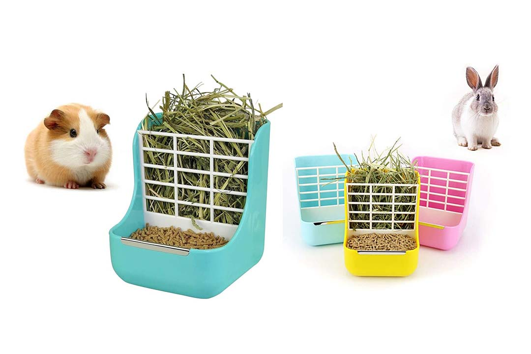 sxbest 2 in 1 Food Hay Feeder