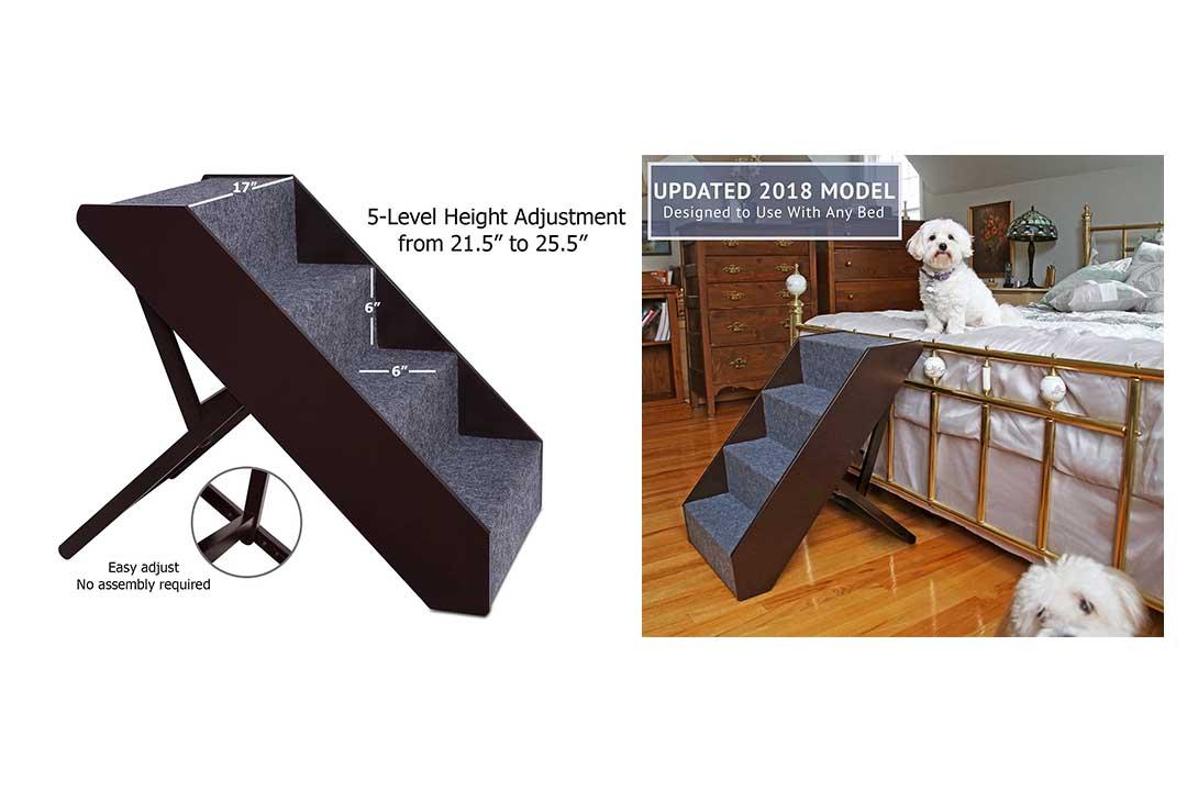 Arf Pets Wood Dog Stairs