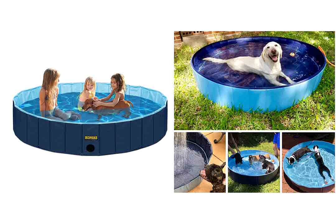 KOPEKS Round Heavy Duty PVC Outdoor Pool