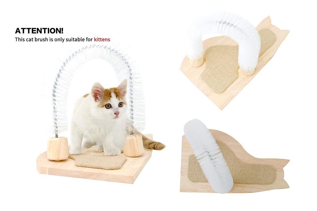MEWANG Cat Scratcher Grooming Arch