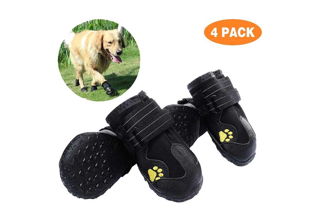PG.KINWANG Dog Boots Waterproof Shoes
