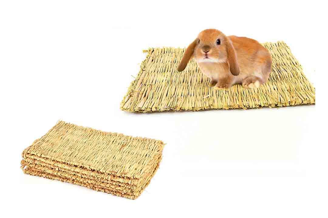 BWOGUE Natural Woven Grass Mat