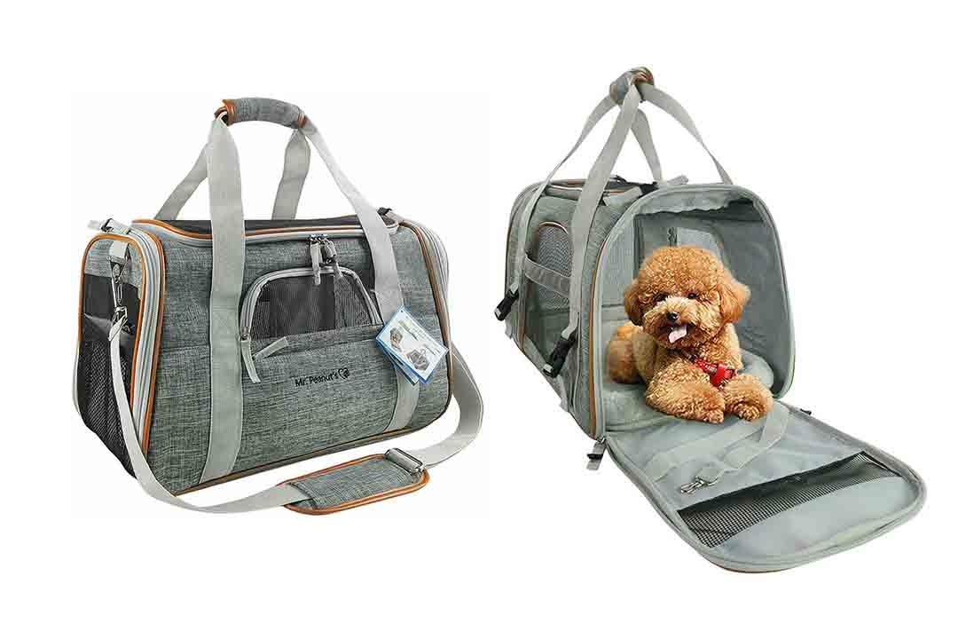 Mr Peanut's Airline Approved Soft-Sided Pet Carrier