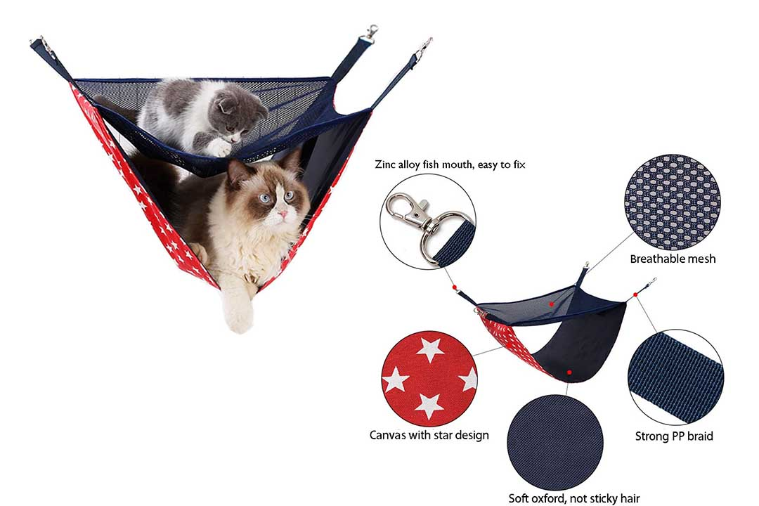 NACOCO 2 Level Comfortable Cat Hammock