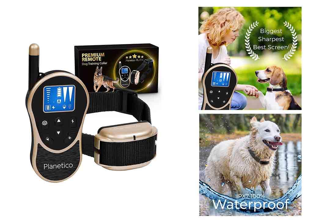 Planetico Remote Dog Training Collar