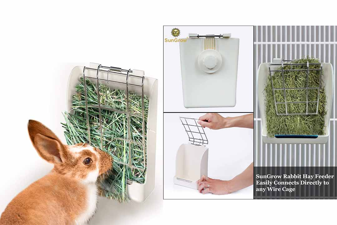 Rabbit Hay Feeder Rack