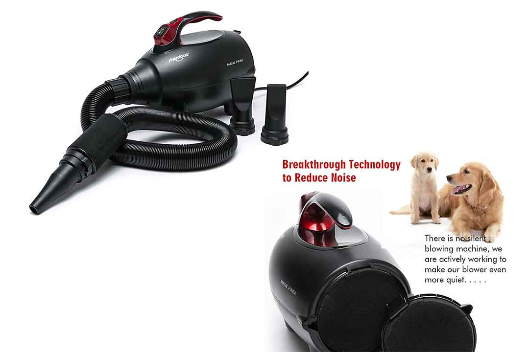 Shernbao High-Velocity Professional Dog/Pet Grooming Force Hair Dryer/Blower