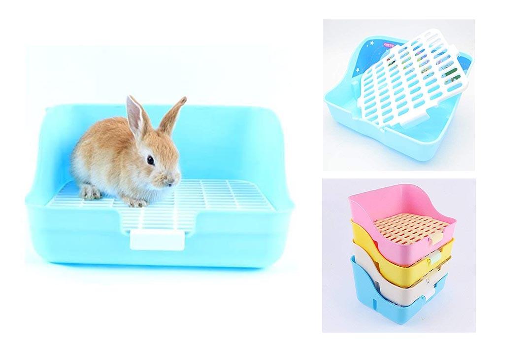 WYOK Rabbit Cage Litter Box