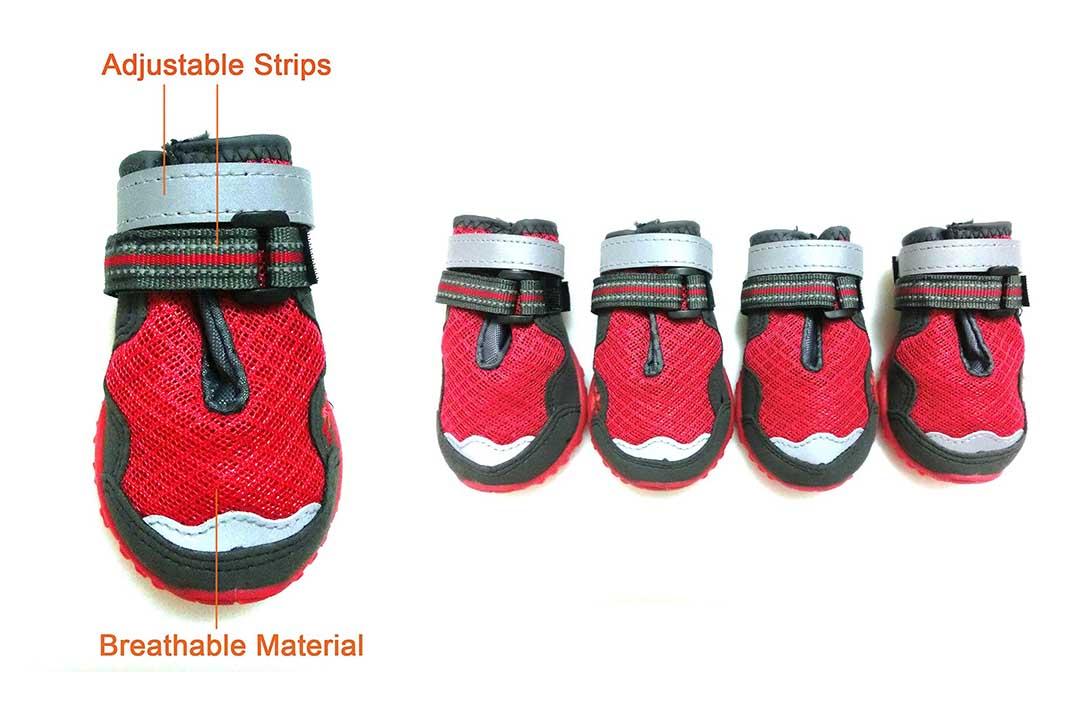 Xanday Breathable Dog Boots