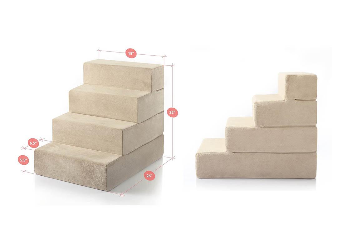 Zinus Step Comfort Pet Stairs