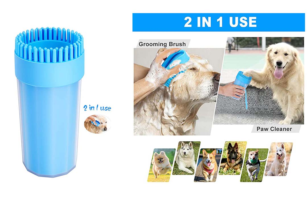 Upgrade Dog Paw Cleaner Dog Cleaner Portable with Towel