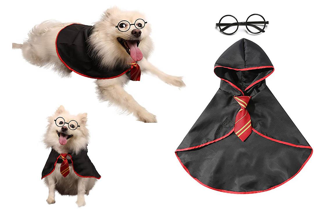 Coomour Dog Shirt Pet Wizard Costume Cat