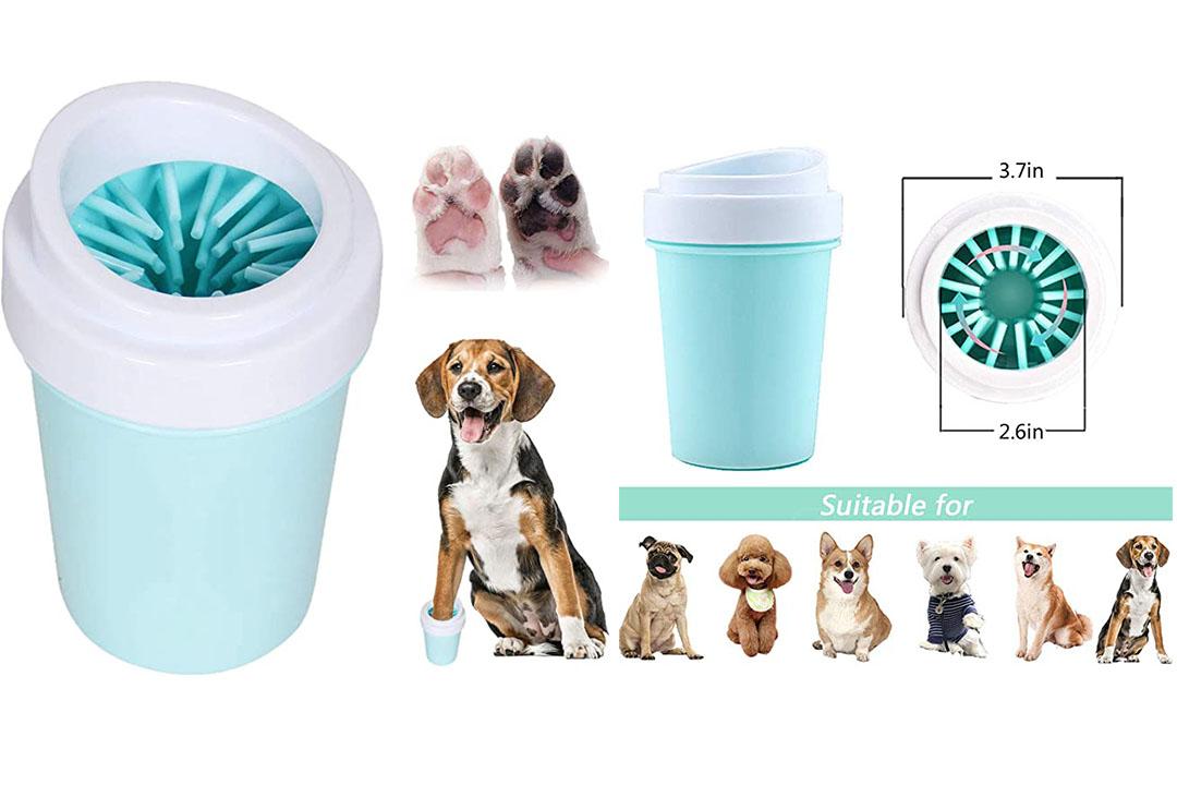 bealy Dog Paw Cleaner Large/Petite Dog Paw Washer