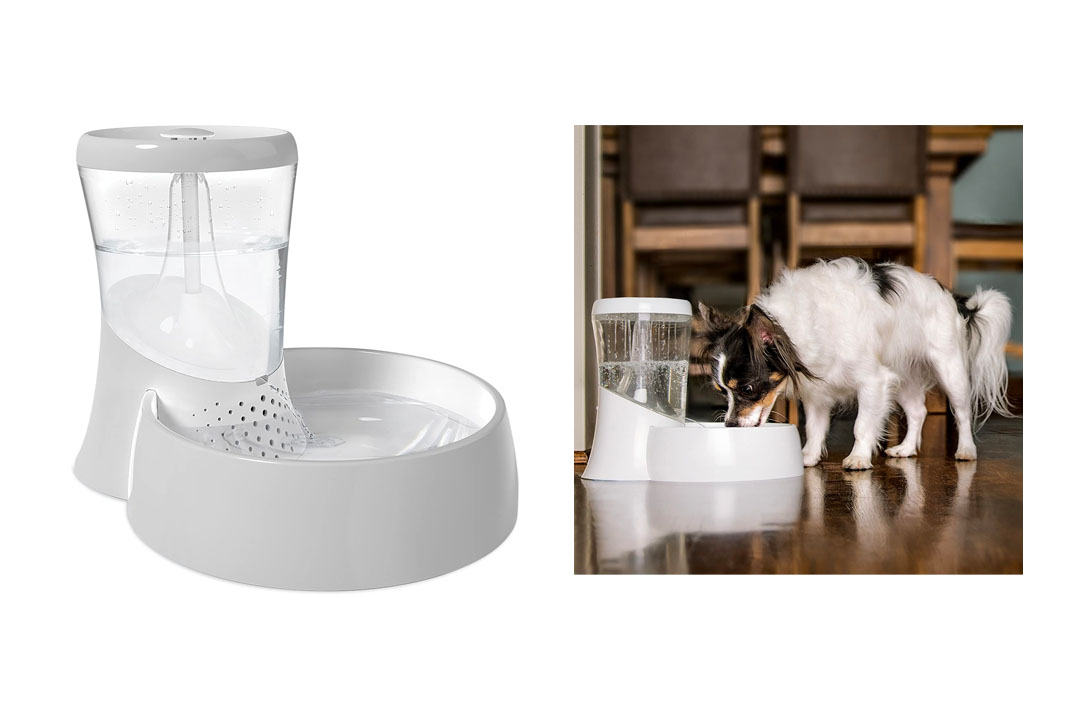 Petmate Fresh Flow Rain Battery Fountain for Cats